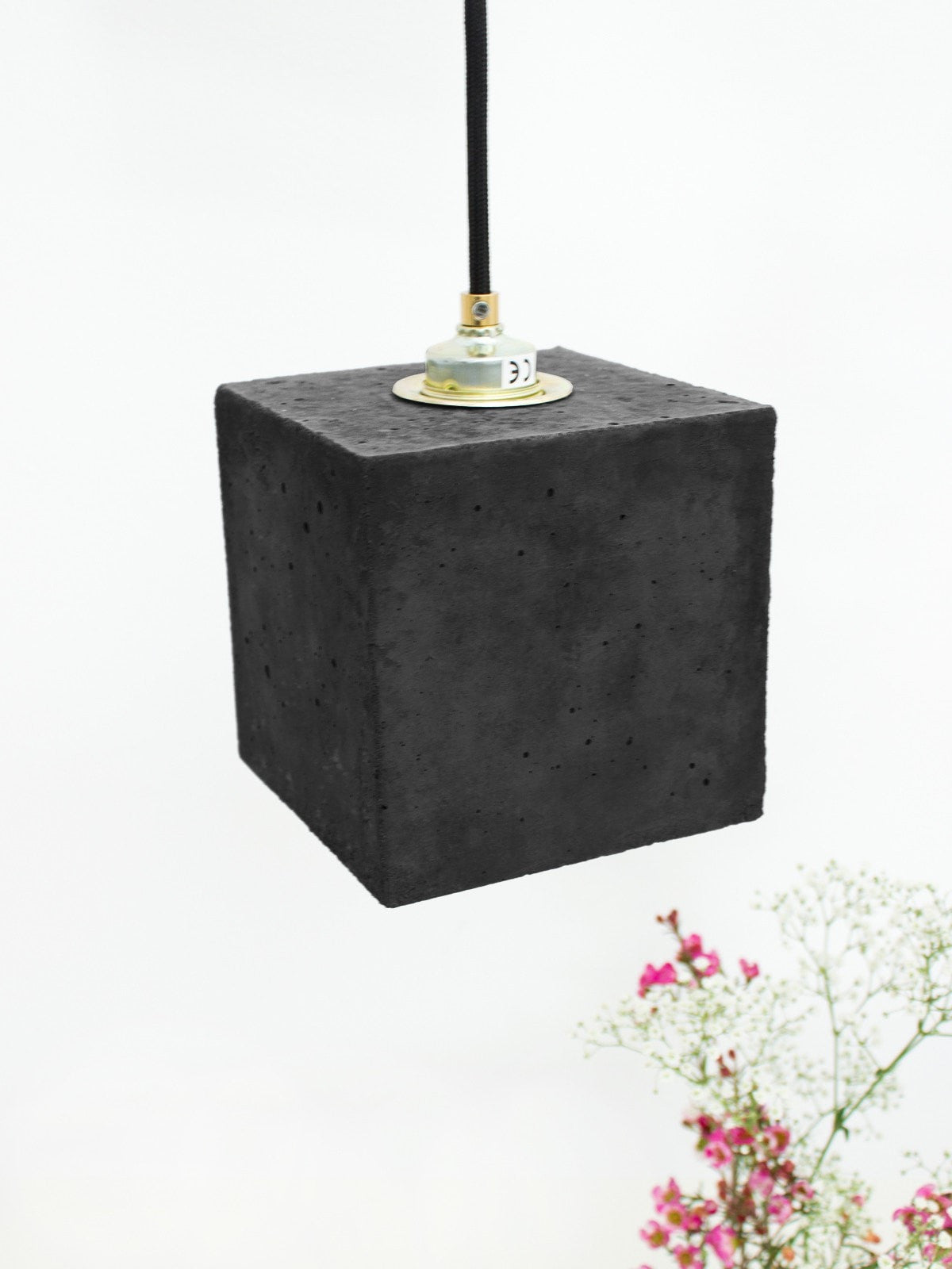 Boxo Pendant Dark Concrete - Slab Homewares