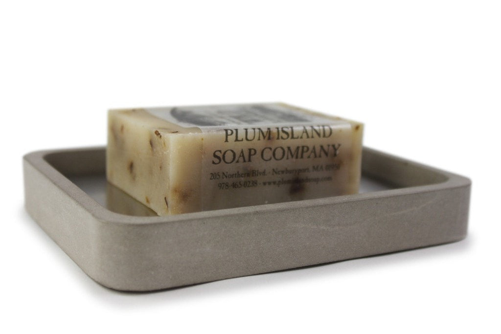 Soap Dish Concrete Gift Set - Slab Homewares