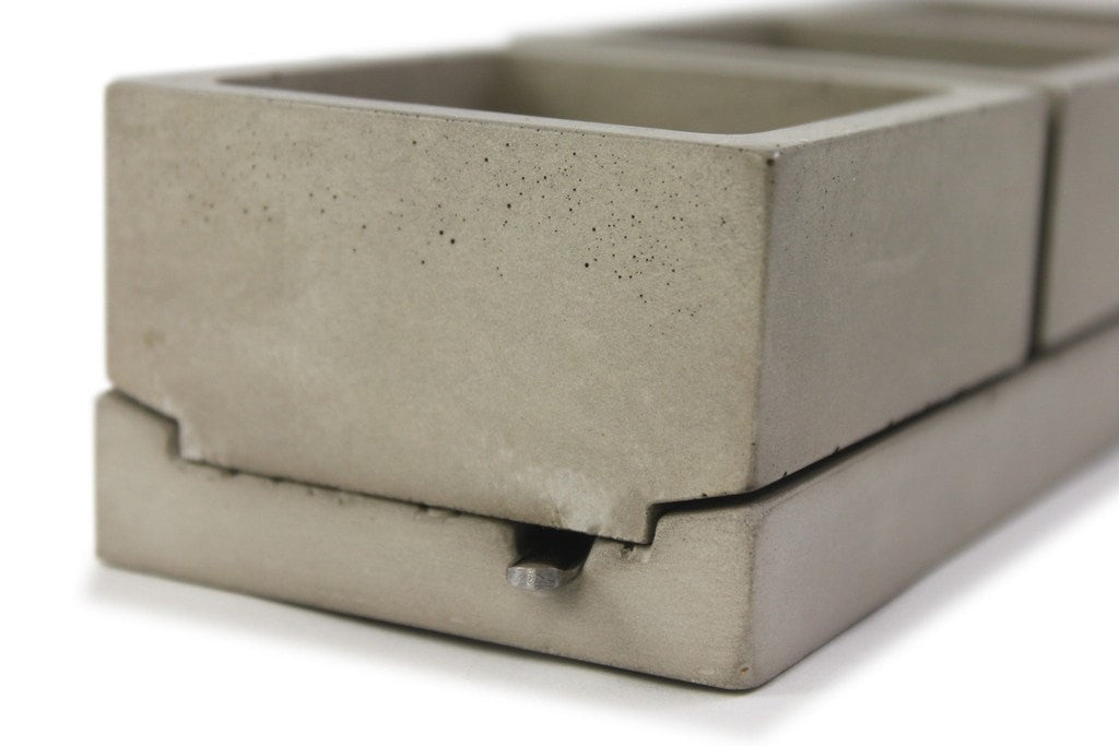 Under Carriage Concrete 3 Caddy - Slab Homewares