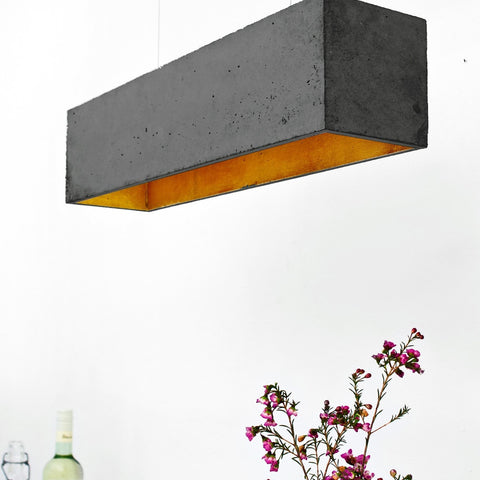 Industriel Pendant Dark Concrete - Slab Homewares