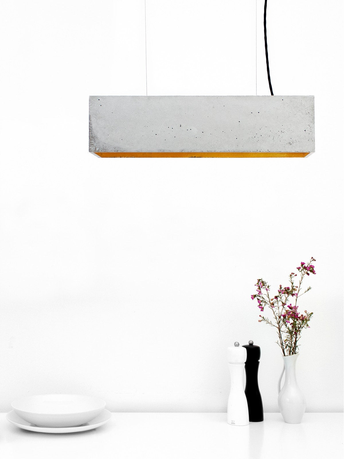 Industriel Pendant Natural Concrete - Slab Homewares
