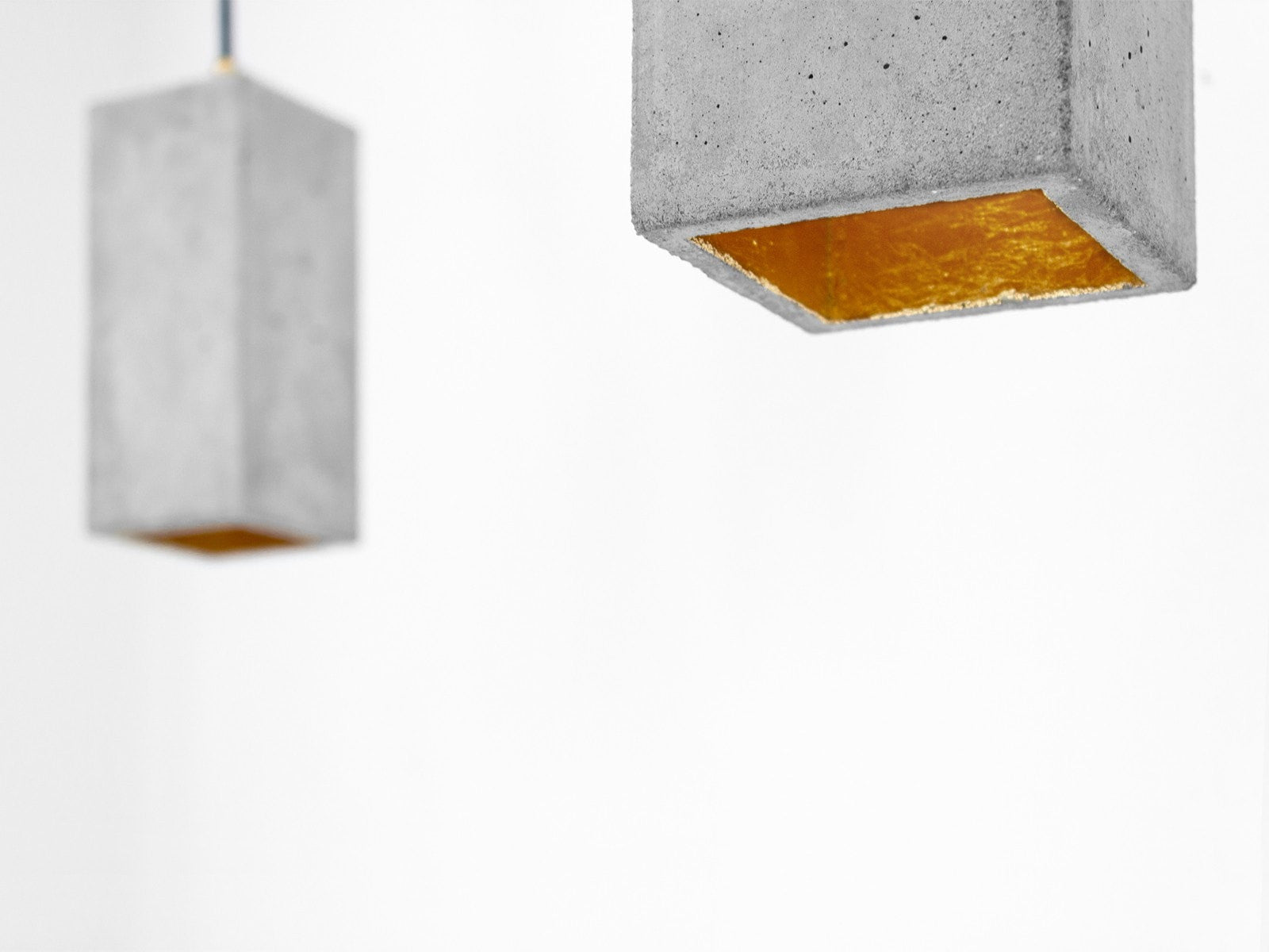 Long Boxo Pendant Natural Concrete - Slab Homewares