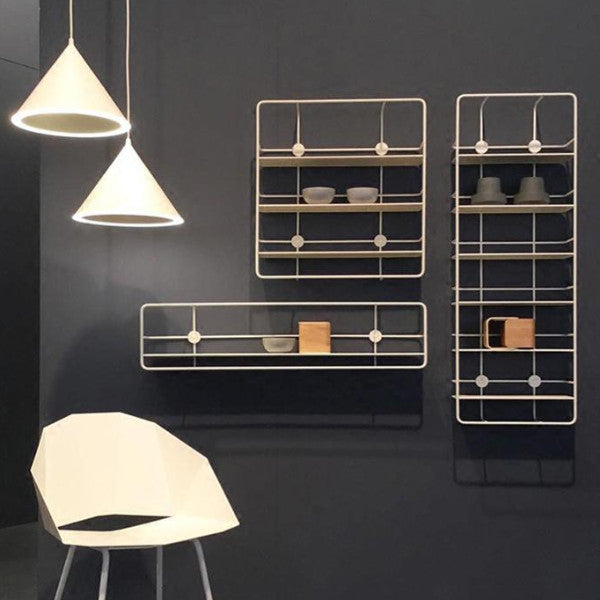 Modern Loft Design Wall Mounted metal wall Shelf