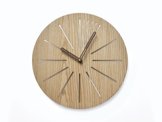 Industrial 30cm wall clock