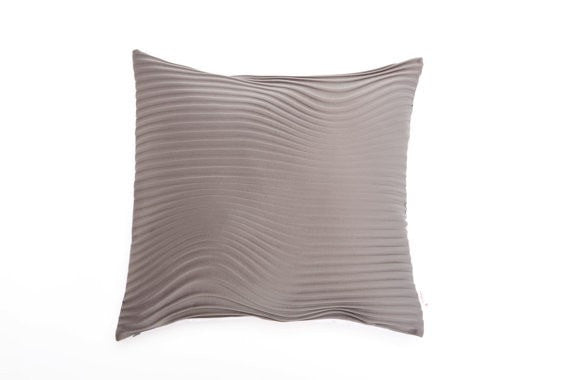 "Storm pillow, Gray pillow cover,50x45 cm/9.6X17.7"" ,"