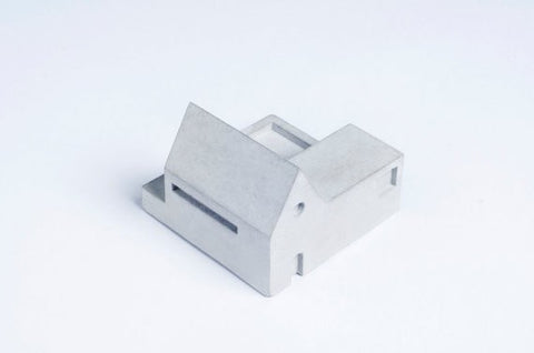 Miniature Home Concrete knob #B