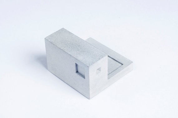 Miniature Home Concrete knob #I
