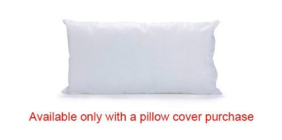"Pillow insert, pillow filling, microfiber, 19.6""X11.8"" / 50X30 cm pillow cover, cushion filling, cushion insert"