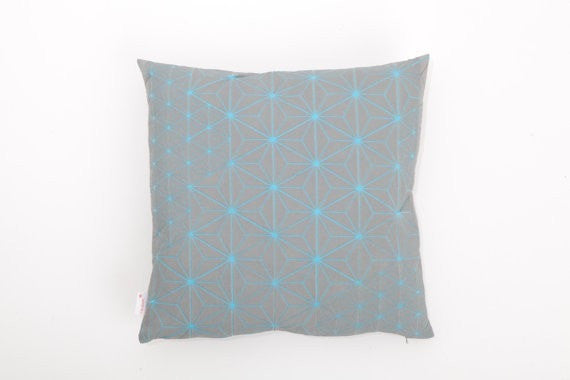 Tamara pillow Grey & Light Blue 40x40