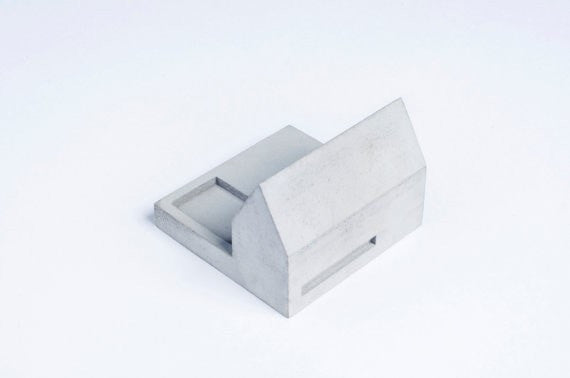 Miniature Home Concrete knob #C