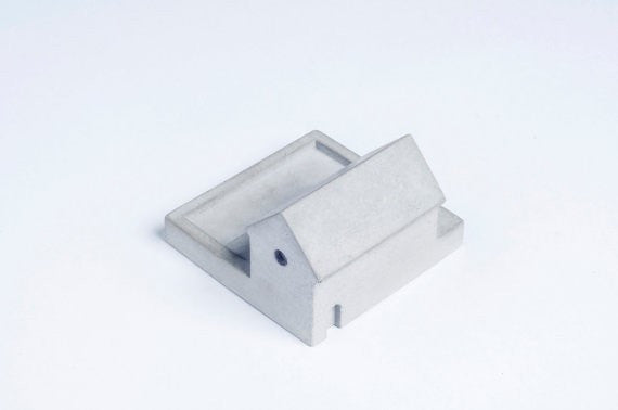Miniature Home Concrete knob #E