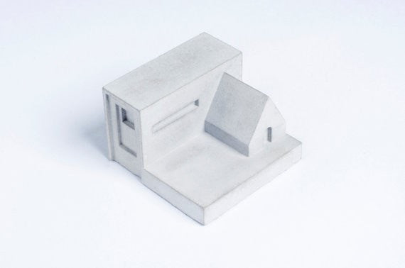 Miniature Home Concrete knob #H