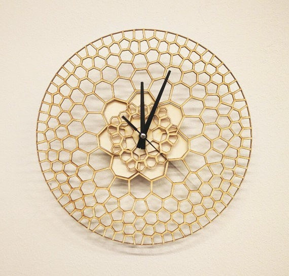 Honeycomb2.0 Wall Clock