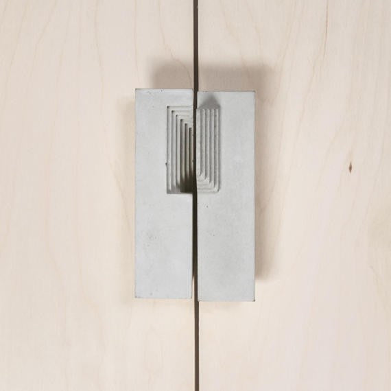 Concrete Door Handle #5 - Slab Homewares