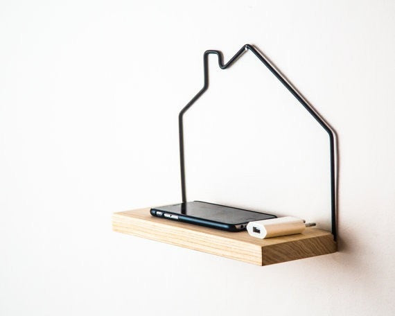 Mini shelf House minimalistic