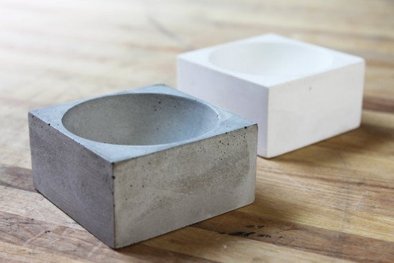 Concrete Pinch Bowl - Slab Homewares