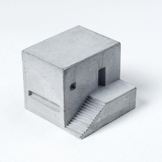 Miniature Concrete Home 7