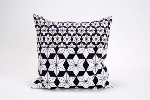 Ami pillow, Purple floral pillow cover, 50x50, 19.5X19.5