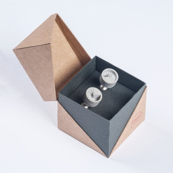 Micro Concrete Cuff Links #9 - ELEMENTS Collection