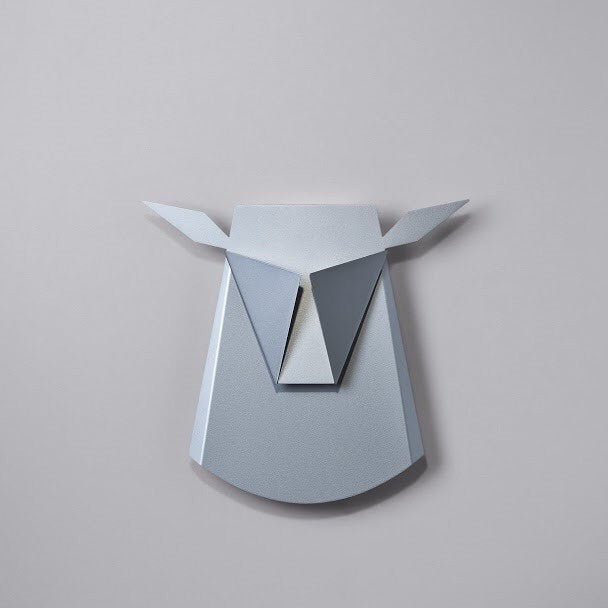 Deer Head Aluminium LED Wall Light - Slab Homewares