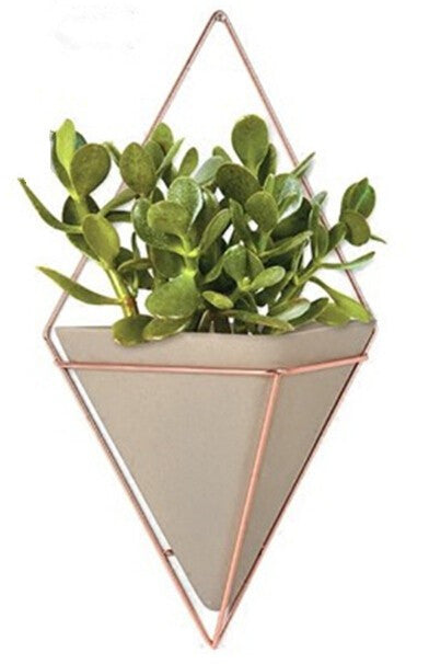 Diamond Wall Planter