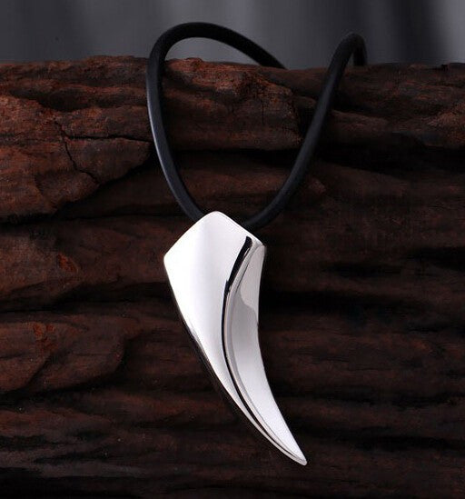Wolf Stainless Steel Necklace