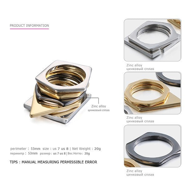 Punkette Multi Layered Ring Set - Slab Homewares