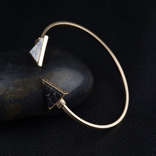 Marble Effect Bangle - Slab Homewares