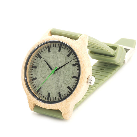 Bella Bamboo Wooden Watches