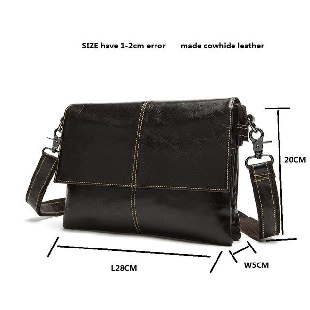 Boston Genuine Leather Mens Bag