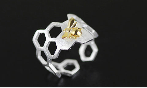 Bee and the Honeycomb Ring