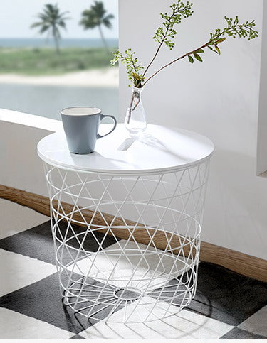 Modern Europe Storage Side Table