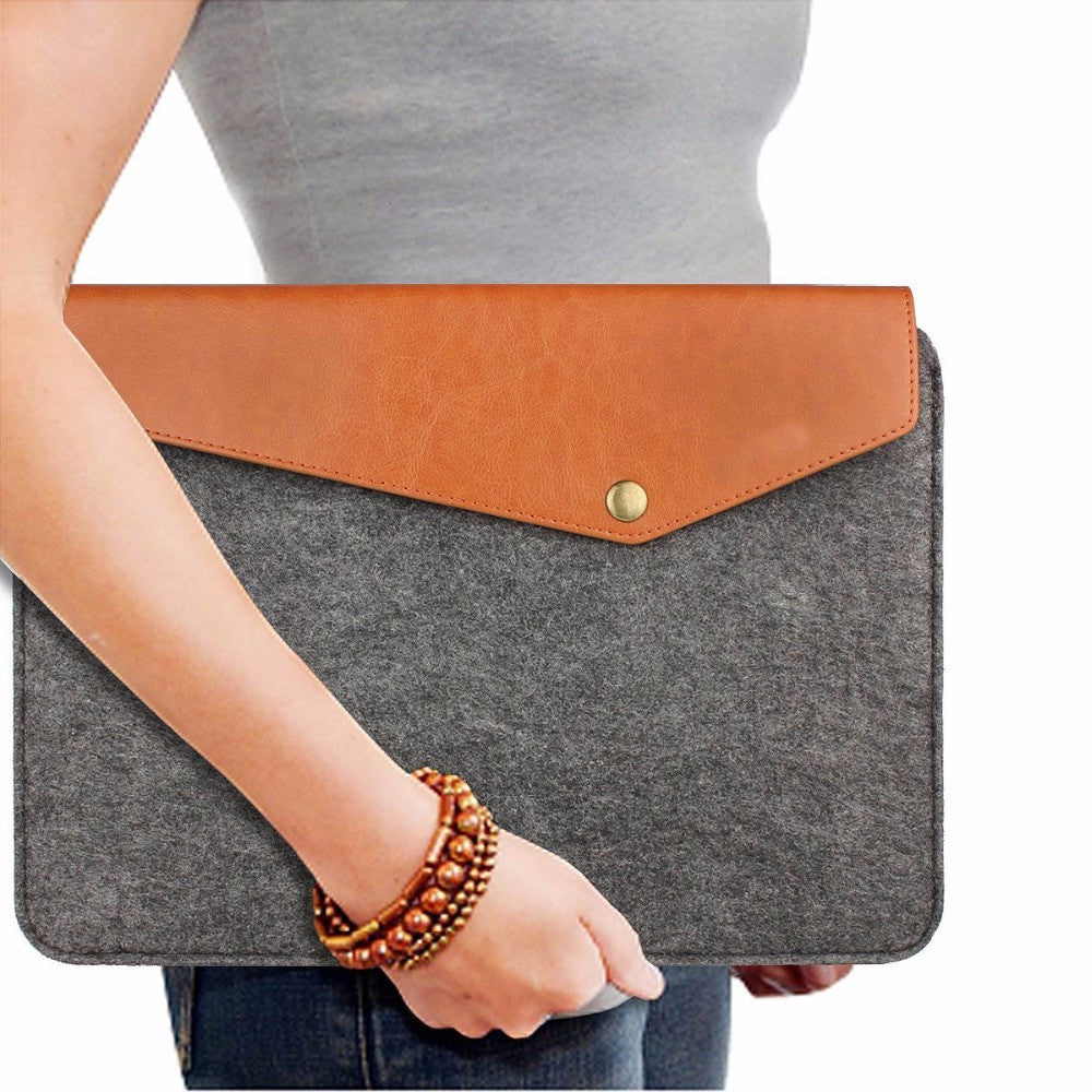 Tablet Felt & Leather Case