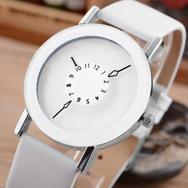 Centered Quartz Watch