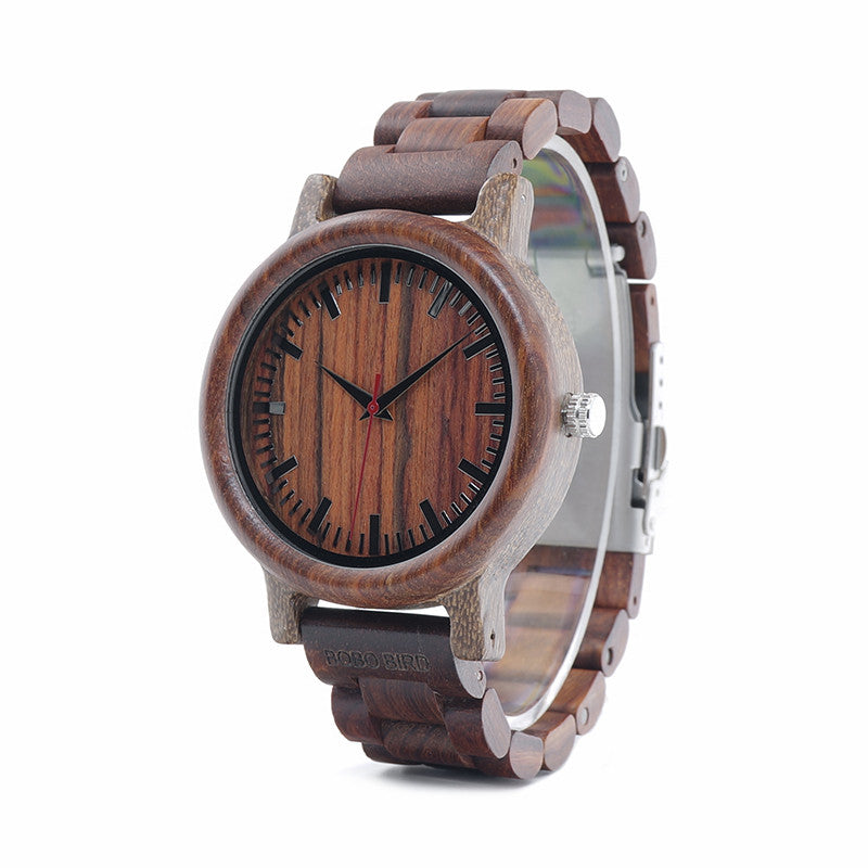 Maxwell Wooden Watch