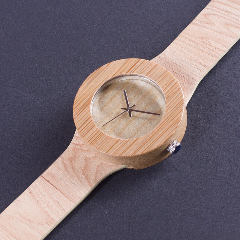 Jane Bamboo Wooden Watch