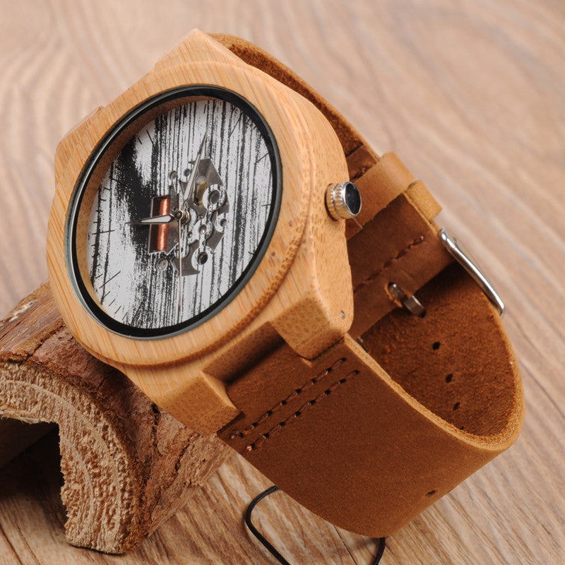 Pete Bamboo Wooden Watch