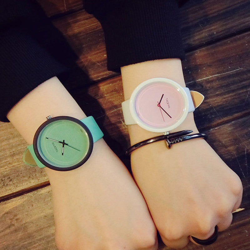 Pastal quartz watch