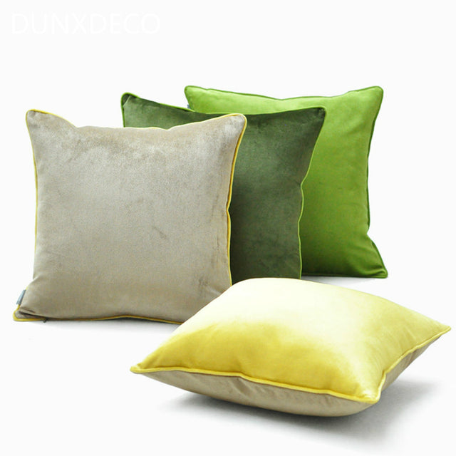 Modern Contrast Color Simple Coussin Cover