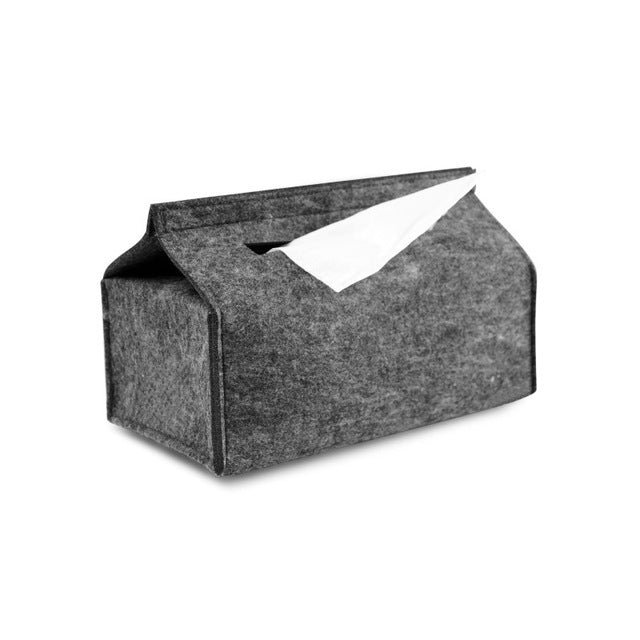 Felt Tissue Box Holder