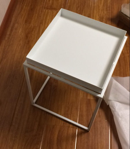 Modern Metal Steel Tray Table