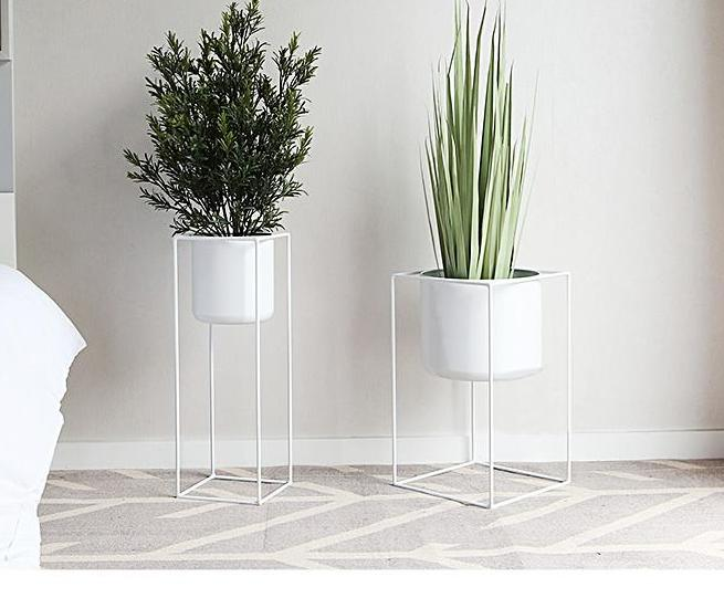 Modern design Loft Metal Flower Planter
