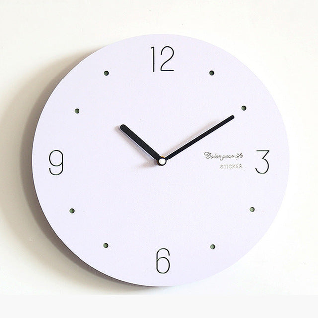 Simple Decorative Hanging Clock