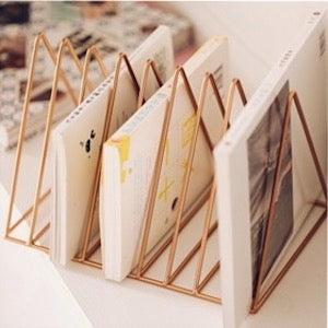 Iron Storage Book Magzine Holder