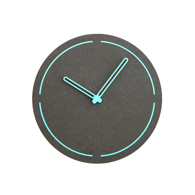 Modern Pine Wood Wall Clock