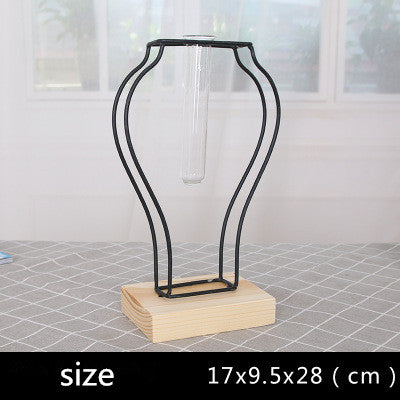 Creative Small Iron Vase Flower Container