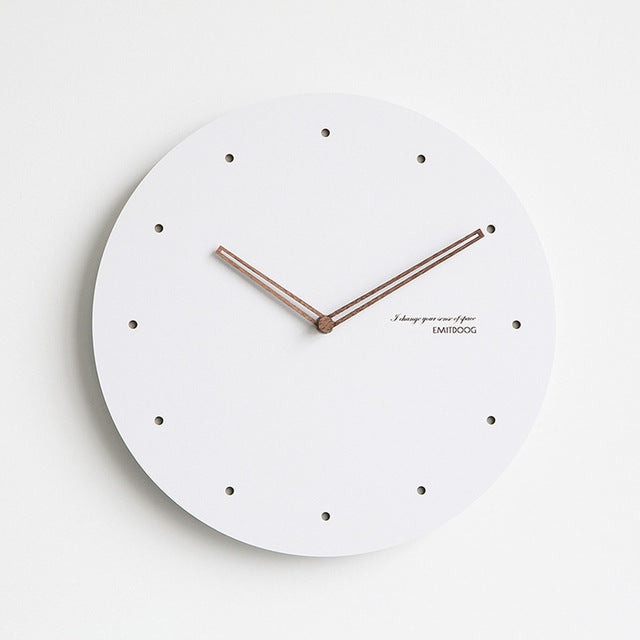 Minimalist Large Wall Clock