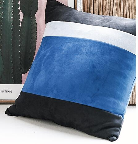 Stripe pattern cushion  pillow cover