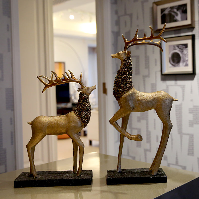 Entrance Decorative New Classic Deer Couples