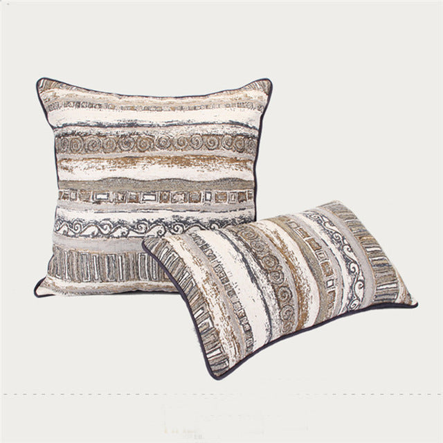 Luxury Villa Clubhouse Bright  Cushion Cover
